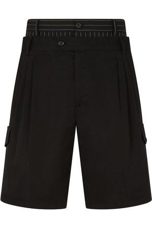 Dolce & Gabbana Bermudas cargo con doble cintura