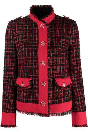 Dolce & Gabbana Chaqueta de tweed a cuadros