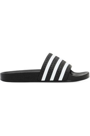 "adidas Hombre Sandalias - | Hombre Sandalias ""adilette"" Con Bandas /blanco 10"