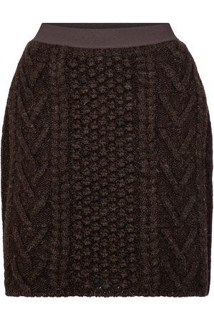 Bottega Veneta Minifalda de tweed de lana