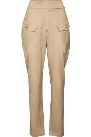 ALEXANDRE VAUTHIER Pantalones tapered de algodón