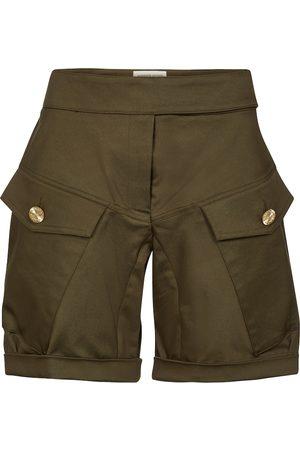 ALEXANDRE VAUTHIER Shorts cargo de algodón