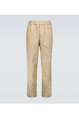 Jil Sander Pantalones chinos de algodón
