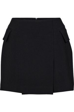 ALEX PERRY Minifalda de crepé Izzy