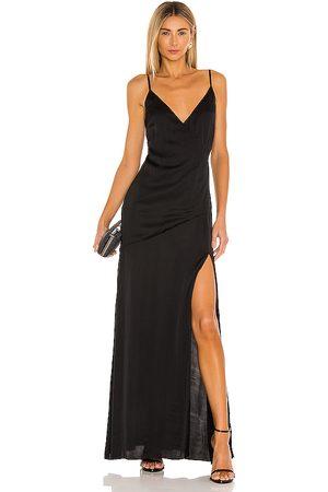Lovers + Friends Vestido westlake en color talla L en - Black. Talla L (también en XS, S, M).