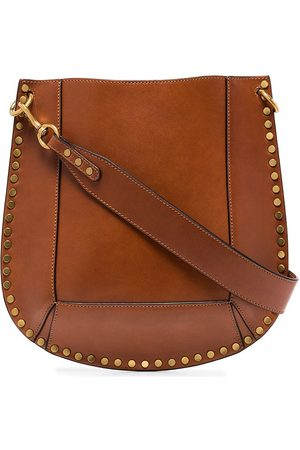 Isabel Marant Brown Oskan leather shoulder bag