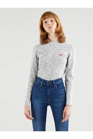Levi's Crew Rib Sweater Neutral / Thunder Space Dye