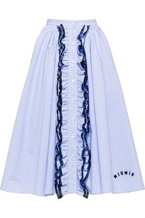 Miu Miu Mujer Estampadas - Falda midi estampada