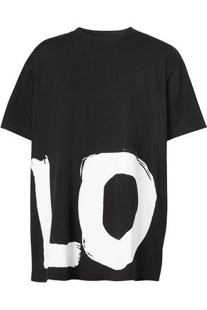 Burberry Mujer Tops - Camiseta oversize con estampado Love