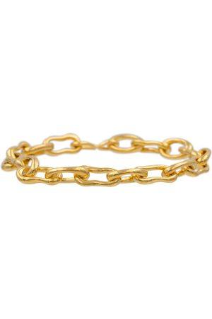 Sophie Buhai Pulsera Roman Chain con baño en oro de 18 ct