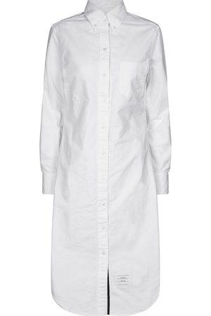 Thom Browne Mujer Casual - Vestido midi de algodón