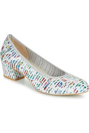 Perlato Zapatos de tacón 11518-CUAROC-BLANC para mujer