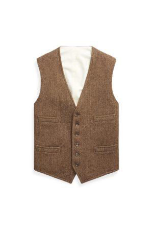Polo Ralph Lauren Chaleco de lana en espiga
