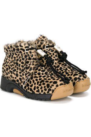 Bumper Botas de motivo de leopardo