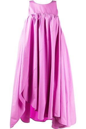 Nina Ricci Vestido midi asimétrico