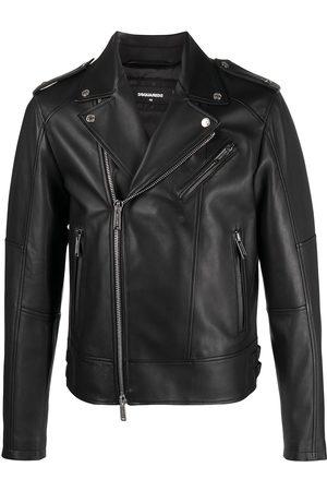 Dsquared2 Hombre De cuero - Leather biker jacket