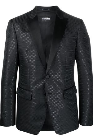 Dsquared2 Hombre Blazers - Single-breasted embossed blazer