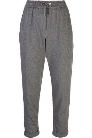 Brunello Cucinelli Pantalones joggers de corte tapered