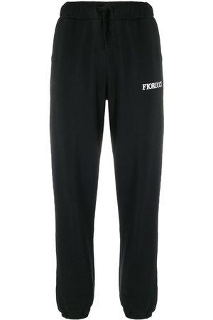 Fiorucci Mujer Joggers - Pantalones joggers con parche de ángeles
