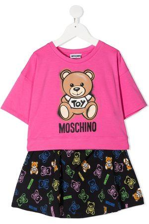 Moschino Set de dos piezas con motivo Teddy Bear