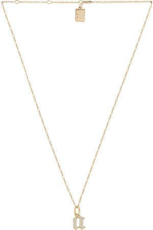 MIRANDA FRYE Mujer Collares - Collar gothic charm x van chain en color oro metálico talla B en - Metallic Gold. Talla B (también en C, E, F, G, I