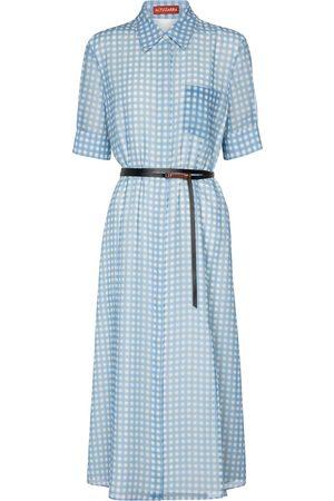 Altuzarra Mujer Mini y ajustados - Exclusivo en Mytheresa – vestido camisero Kieran de cuadros vichy