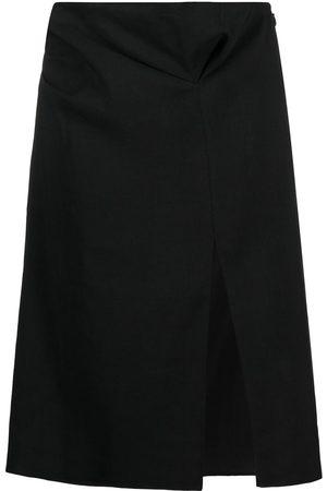 Jacquemus Mujer Midi - Falda midi de talle alto