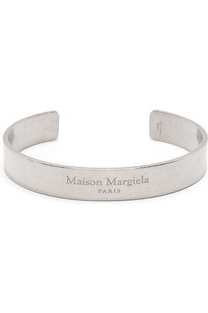 Maison Margiela Hombre Pulseras - Brazalete con logo grabado