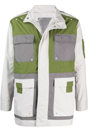 A-cold-wall* Rhombus colour-block jacket