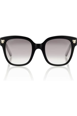 CARTIER EYEWEAR Gafas de sol cuadradas Panthère de Cartier