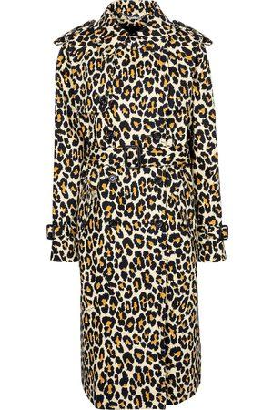 Marc Jacobs Gabardina con estampado de leopardo
