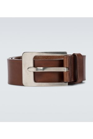 DRIES VAN NOTEN Hombre Cinturones - Leather belt