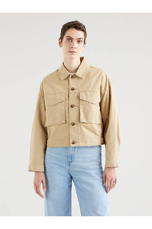 Levi's Loose Utility Trucker Jacket Neutral / Soft Structure Incense