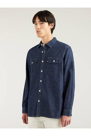 Levi's Hombre Camisas - Jackson Worker Shirt Neutral / Hemp Rinse