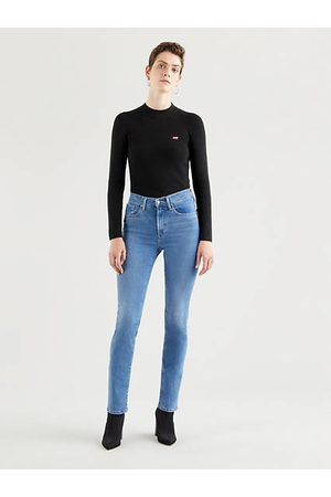 Levi's Mujer Cintura alta - 724™ High Rise Straight Jeans Neutral / Rio Frost