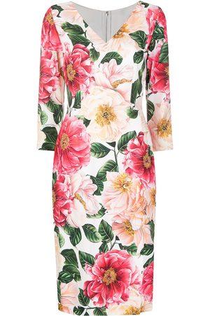 Dolce & Gabbana Mujer Estampados - Vestido con estampado floral