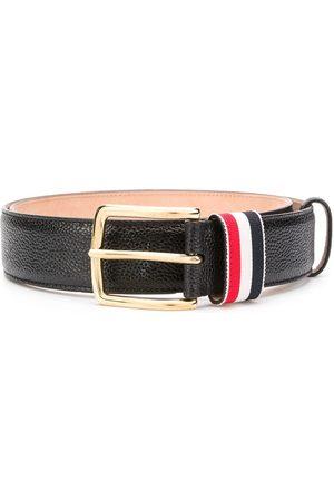 Thom Browne Cinturón a rayas con motivo granulado