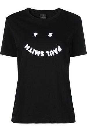 Paul Smith Mujer Tops - Camiseta con logo estampado