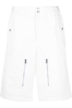 Alexander McQueen Bermudas con múltiples bolsillos