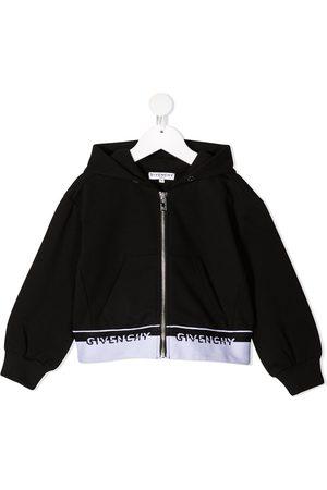 Givenchy Sudadera con capucha y ribete del logo