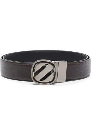Ermenegildo Zegna Hombre Cinturones - Buckle-fastening leather belt