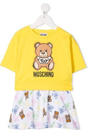 Moschino Set de sudadera y camiseta