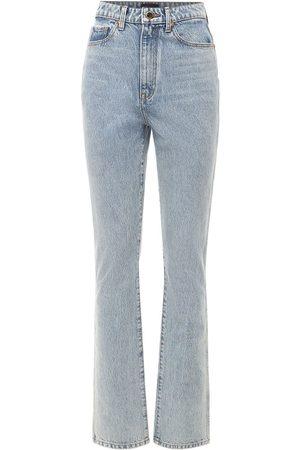 Khaite Mujer Cintura alta -   Mujer Jeans De Denim De Algodón 24