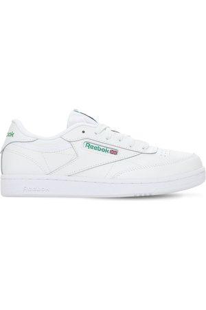 Reebok Niño Zapatillas deportivas -   Niño Sneakers De Piel Con Cordones /verde 3.5