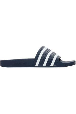 "adidas | Hombre Sandalias ""adilette"" Con Bandas /blanco 10"