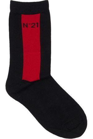 Nº21 Niña Calcetines - | Niña Calcetines De Mezcla De Algodón Ii