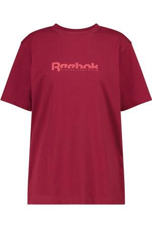 Reebok Camiseta de punto fino con logo