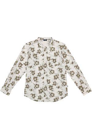 Il gufo Camisa de algodón floral