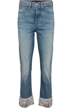 VERONICA BEARD Jeans skinny Ryleigh de tiro alto