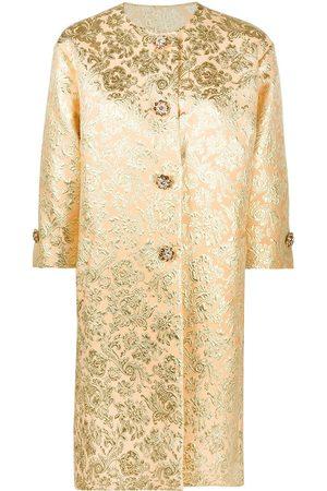 Dolce & Gabbana Abrigo en jacquard